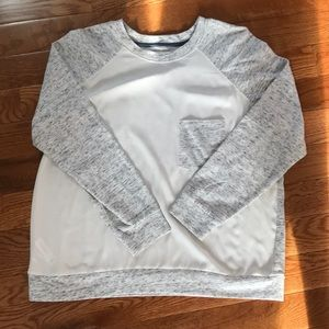 NWOT LOFT Lou and grey size xl sweater